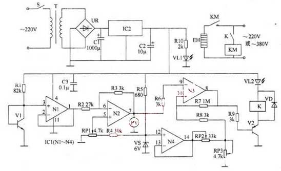Electric Blanket Wiring Diagram